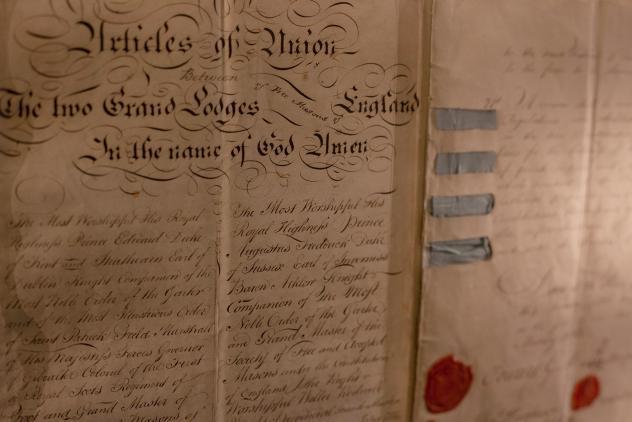 Museum of Freemasonry Articles of Union