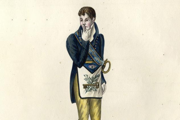 4th degree, Colection complete des 33 dégrés… (c1810) ©Museum of Freemasonry