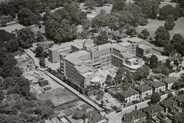 The Royal Masonic Hospital at Ravenscourt Park ©Museum of Freemasonry, London