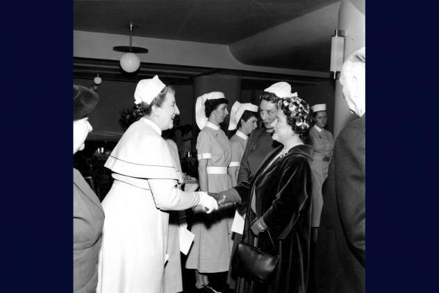 The Queen Mother opens The Wakefield Wing in 1958 ©Museum of Freemasonry, London