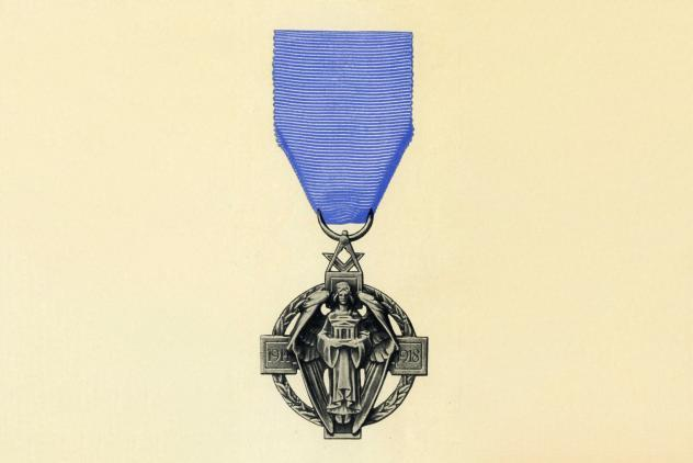 Cyril Saunders Spackman's winning design (1920) ©Museum of Freemasonry, London