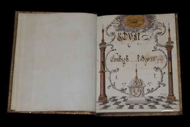 By laws of Royal Denbigh Lodge, 1787 – 1792 ©Museum of Freemasonry, London