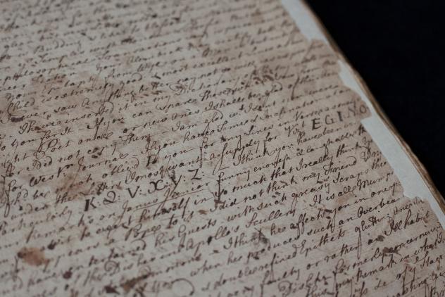 William Perfect manuscript ©Museum of Freemasonry, London
