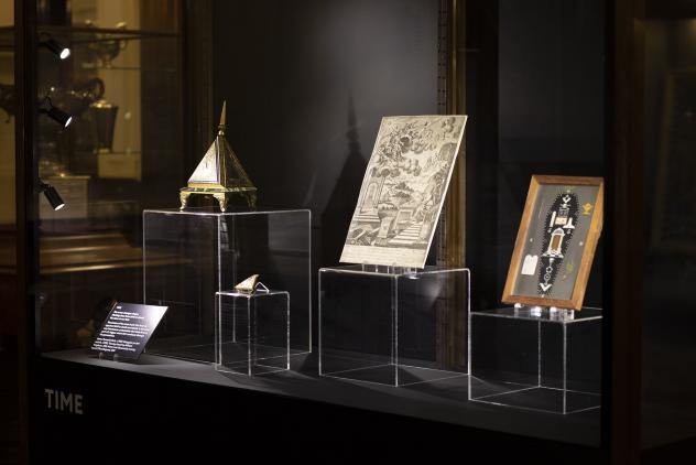 Time display from Phases by Lumen at Museum of Freemasonry ©Lumen and Museum of Freemasonry, London