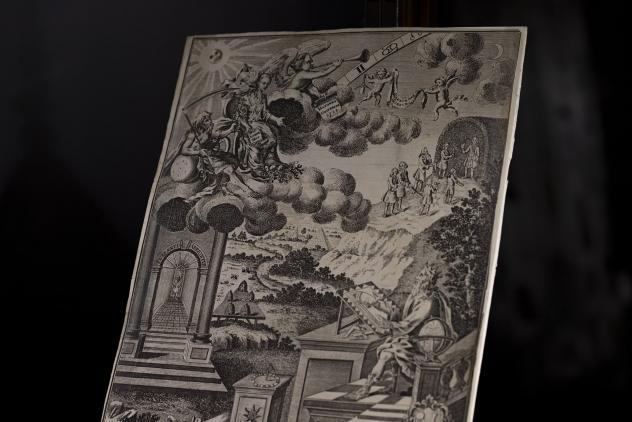 Tracing board by William Tringham, 1755 ©Museum of Freemasonry, London 2020
