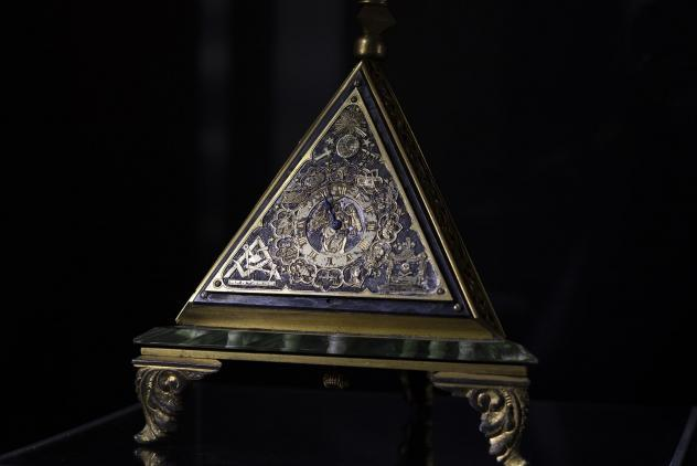 Pyramid clock, c.1900 ©Museum of Freemasonry, London 2020