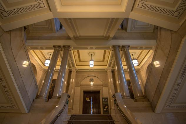 Freemasons' Hall Staircase ©Ash Bennette 2019
