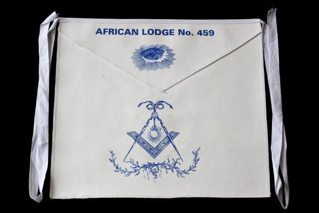 African Lodge apron ©Museum of Freemasonry