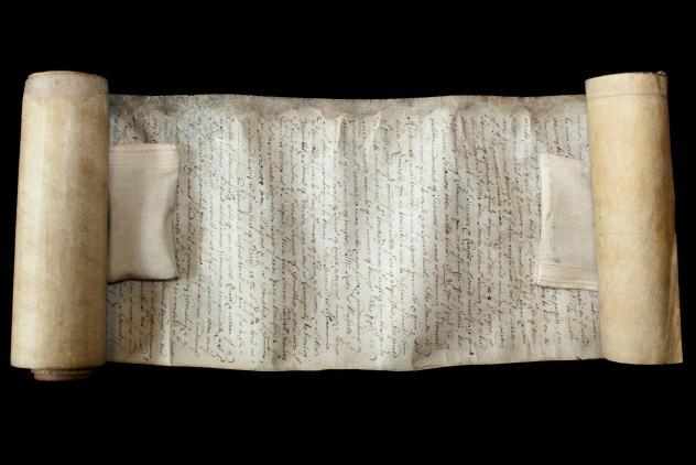William Watson Manuscript (1687) ©Museum of Freemasonry
