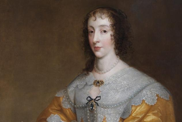 Henrietta Maria by Joyce Aris (attributed to) ©Museum of Freemasonry, London