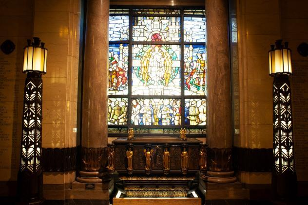 Memorial Shrine at Freemasons' Hall ©Museum of Freemasonry, London