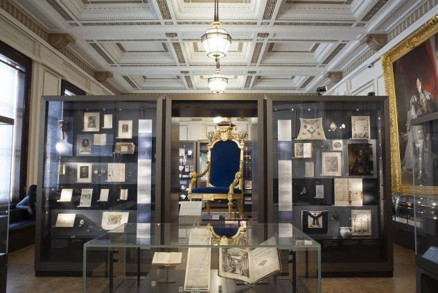 View of North Gallery ©Museum of Freemasonry