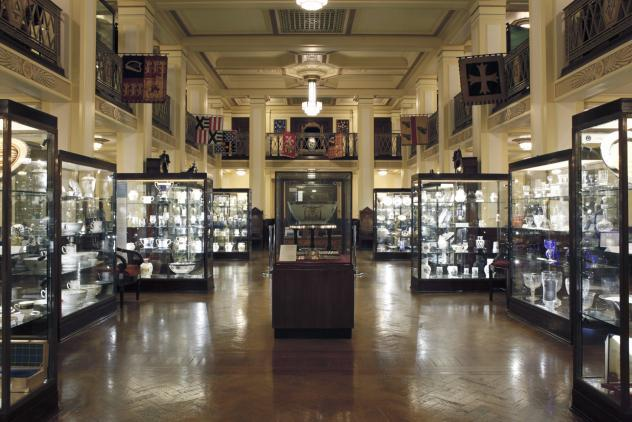 View of South Gallery ©Museum of Freemasonry