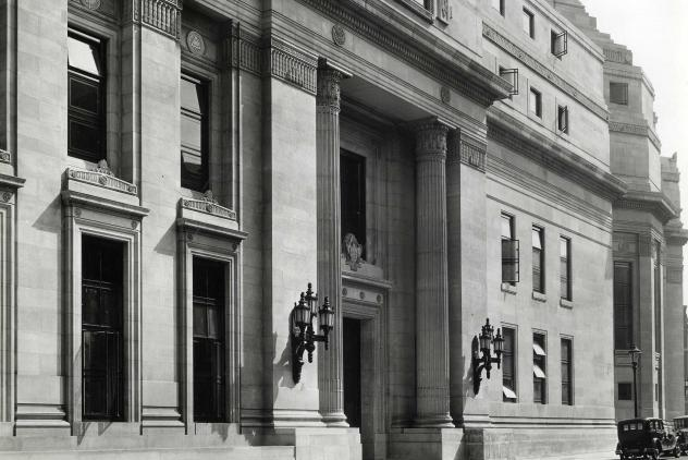 Great Queen Street entrance, Freemasons' Hall (1933) ©Museum of Freemasonry