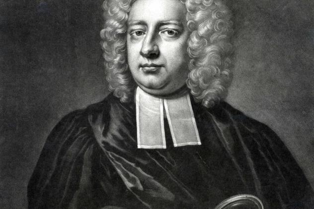 Engraving of Jean Theophile Desaguliers, engraved by Peter Pelham