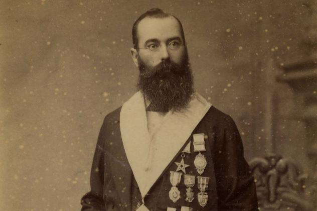 Portrait of John Lane ©Museum of Freemasonry, London
