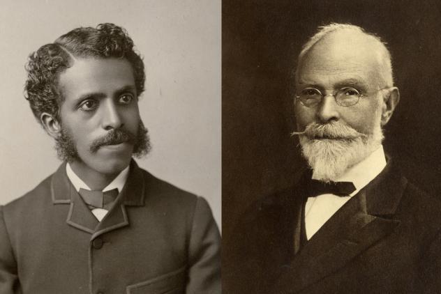 Frederic Monroe and Henry Sadler ©Museum of Freemasonry, London