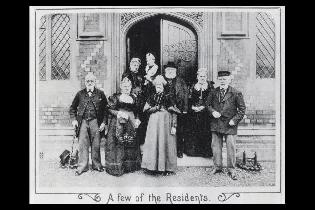 The residents of masonic charity, c.1900 ©Museum of Freemasonry, London