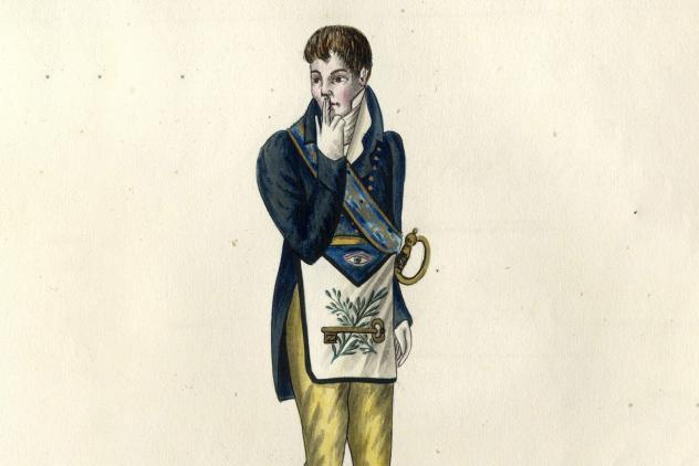 4th degree, Colection complete des 33 dégrés… (c1810) ©Museum of Freemasonry