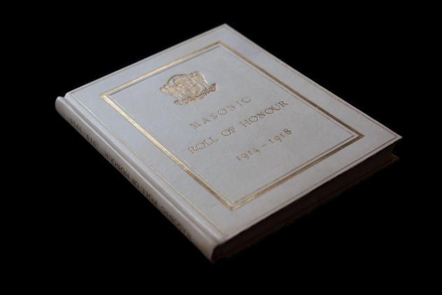 Masonic Roll of Honour 1914-1918 ©Museum of Freemasonry, London