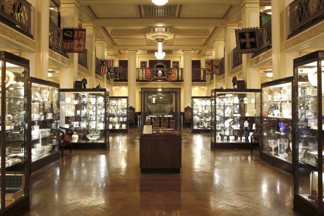 View of South Gallery ©Museum of Freemasonry