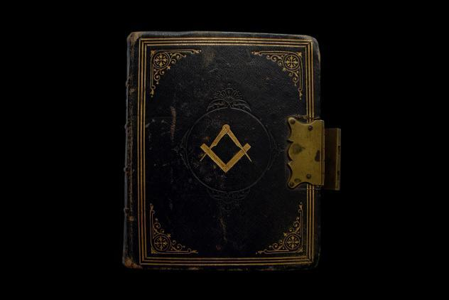 Ritual book by Claret ©Museum of Freemasonry, London